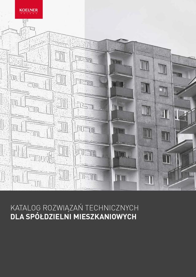 Katalog rozwiązań technicznych dla Spółdzielni Mieszkaniowych 2019